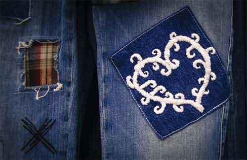 jeans flicken anleitungen so wird die hose wieder heil. Black Bedroom Furniture Sets. Home Design Ideas
