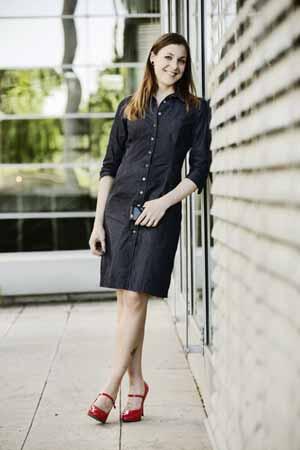 Jeanskleid kombinieren