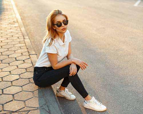 Schwarze Jeans kombinieren